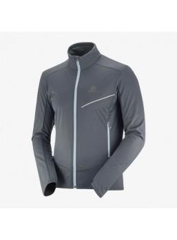 Salomon RS softshell jakke koksgrå/man