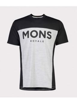 Mons Royale Redwood VT Black / Grey
